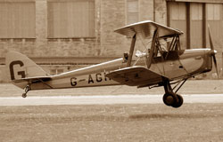 DeHavilland Tiger Moth Biplane